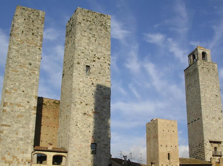 San Gimignano - torri